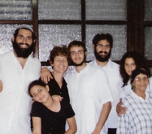 Last photo with family (Age 17)